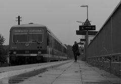 Der letzte Zug vor dem Zug