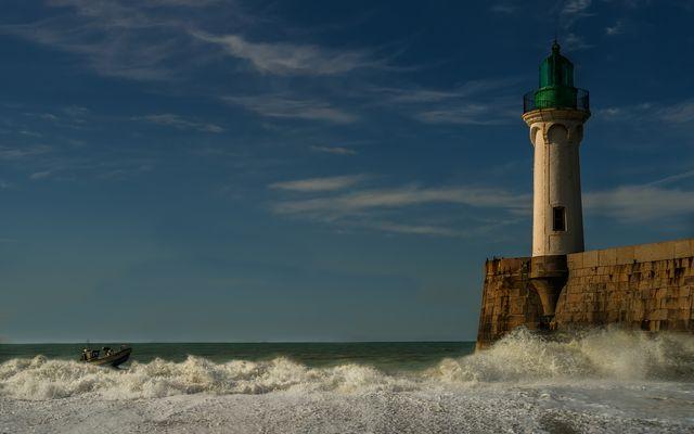 Der Leuchtturm ....