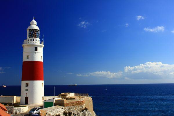 Der Leuchtturm am Europa Point
