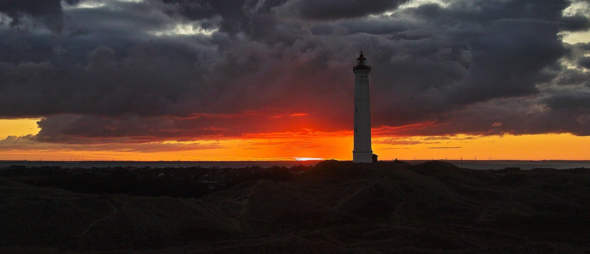 Der Leuchtturm ...