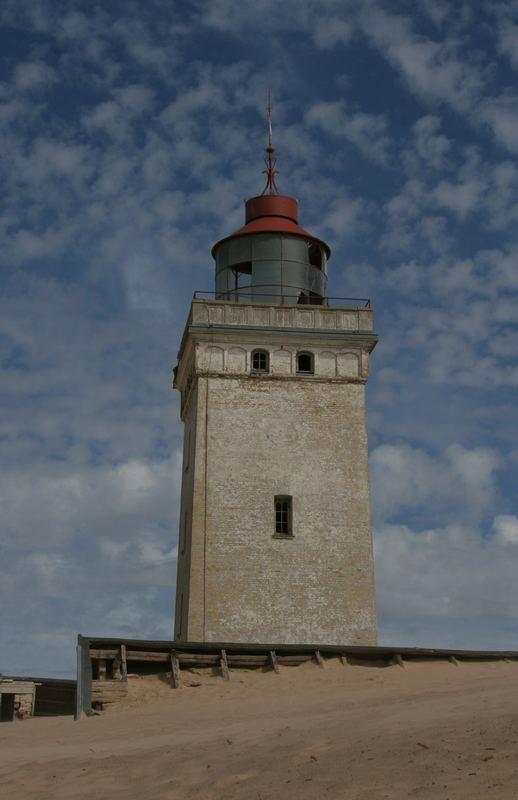 Der Leuchtturm im Sand