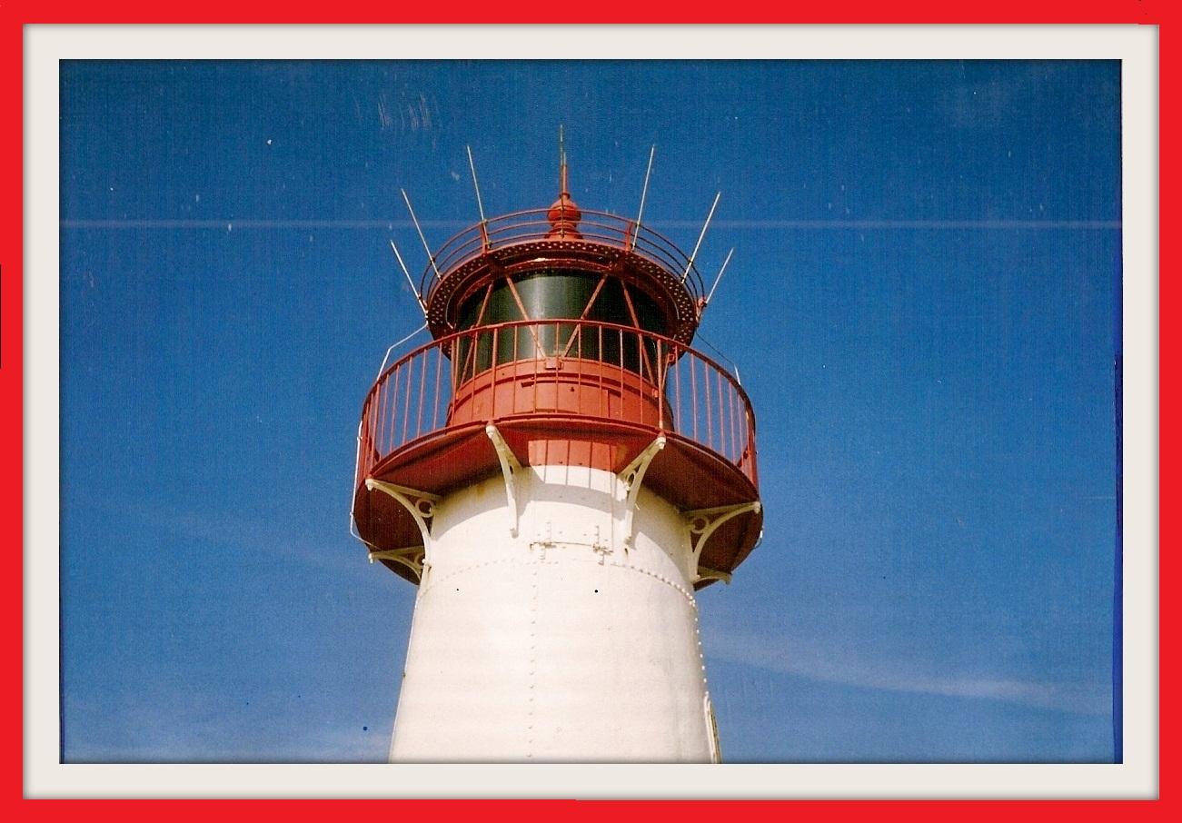 Der Leuchtturm vom Ellenbogen/Sylt