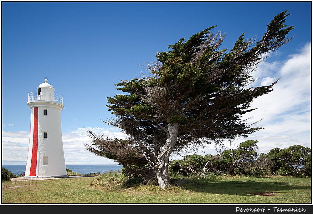 Der Leuchtturm von Devonport