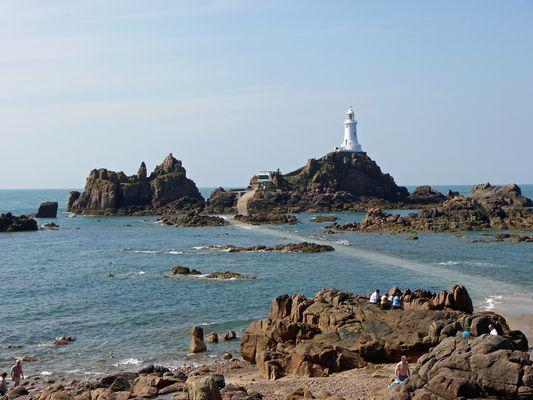 Der Leuchtturm von La Corbière/Isle of Jersey, September 2011