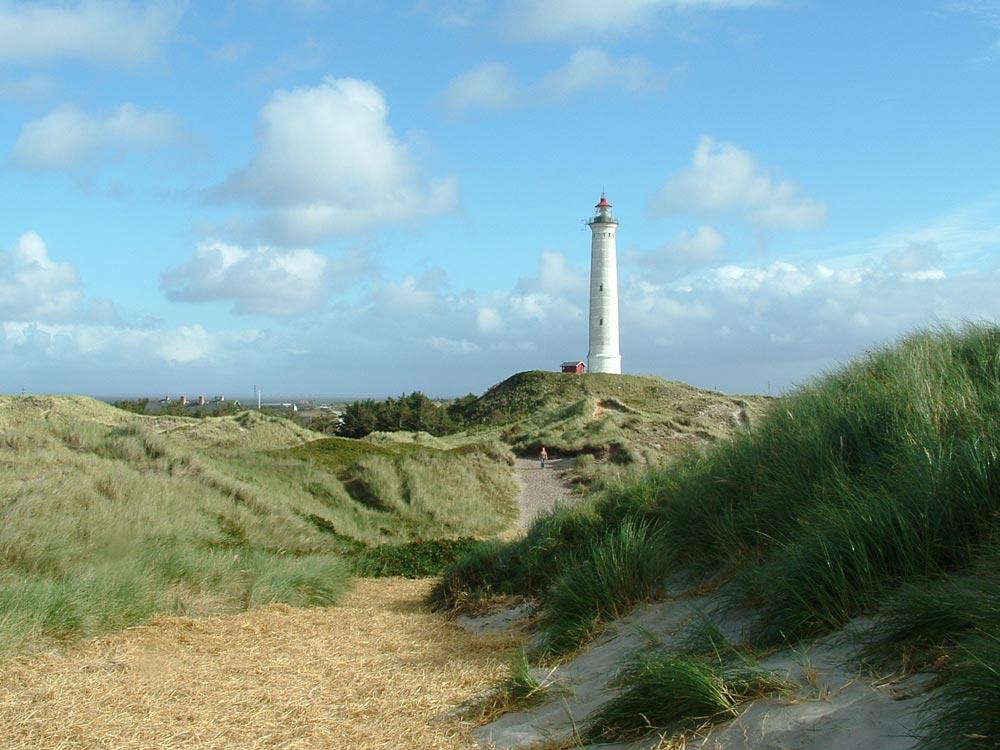 Der Leuchtturm von Nr. Lyngvig