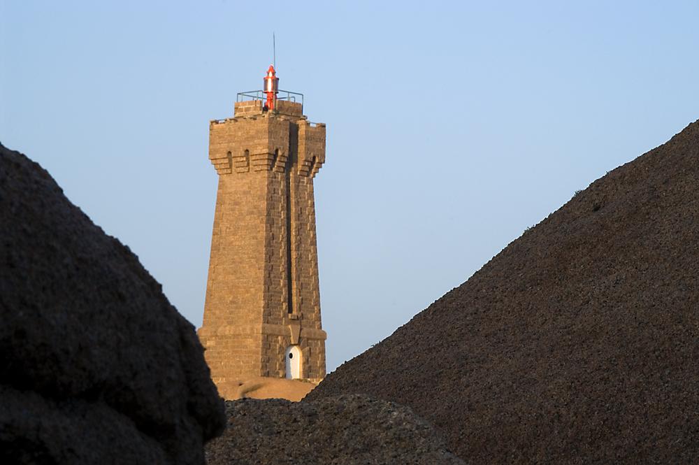 Der Leuchtturm von Ploumanach
