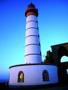 Der Leuchtturm von Saint Mathieu