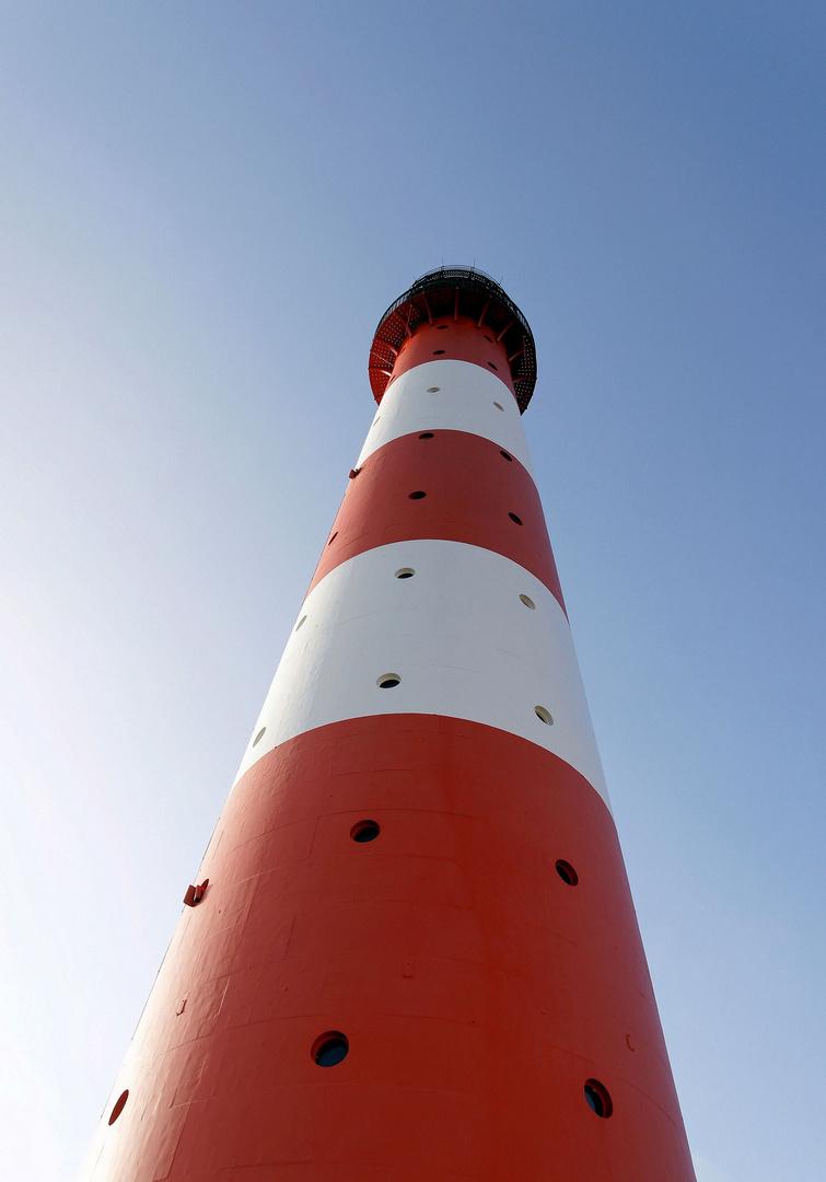 Der Leuchtturm von Westerheversand