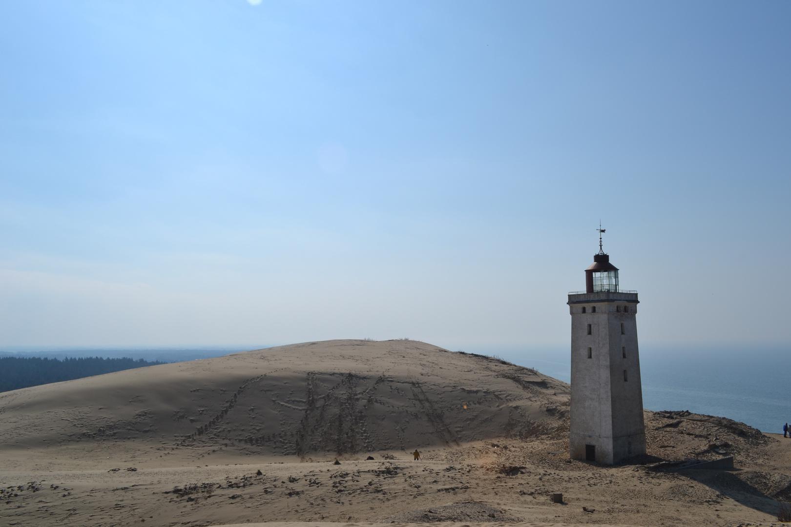 Der Leuchturm in der Wanderdüne