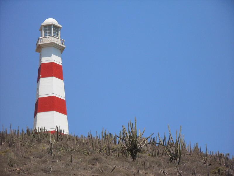 Der Leuchturm von Isla de Margarita