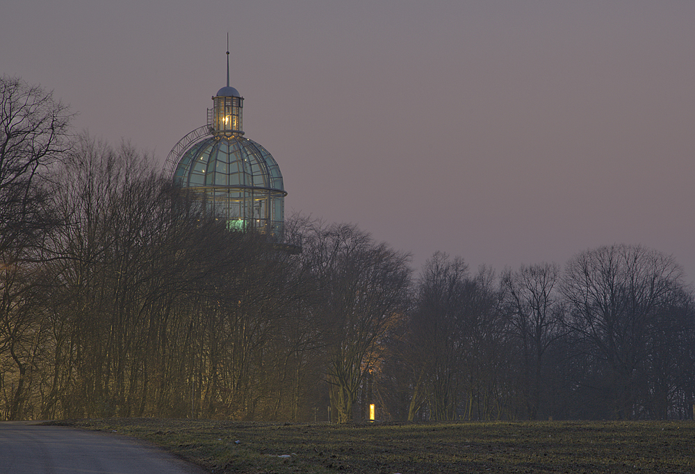 Der Lichtturm ...