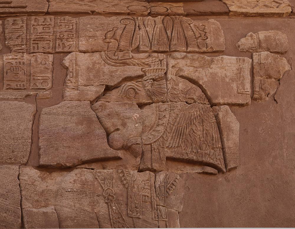 Der Löwentempel von Musawwarat es Sufra (3)