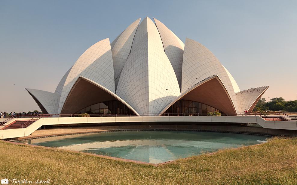 Der Lotustempel in Delhi