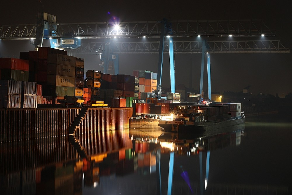 Der Ludwigshafener Hafen