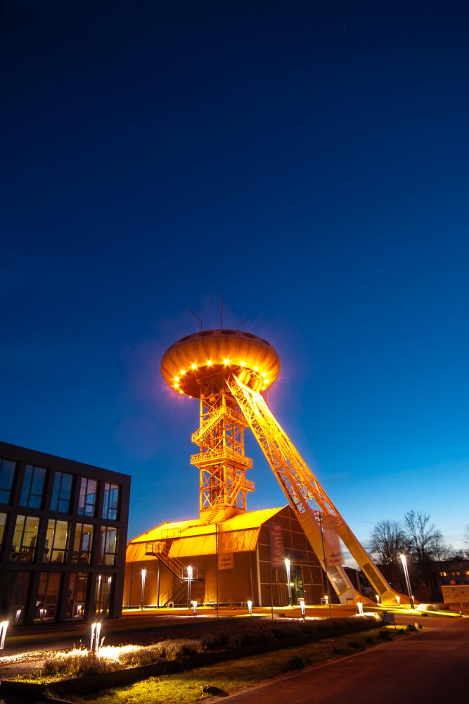 Der Lüntec-Tower (auch Colani-Ei)