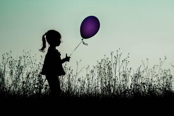 ...der Luftballon...
