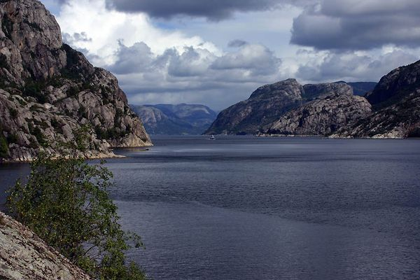 Der Lysefjord im August 04