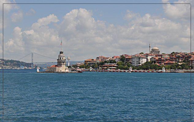 Der Mädchenturm in Istanbul
