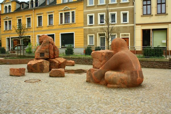 Der Märchenbrunnen zu Burgstädt