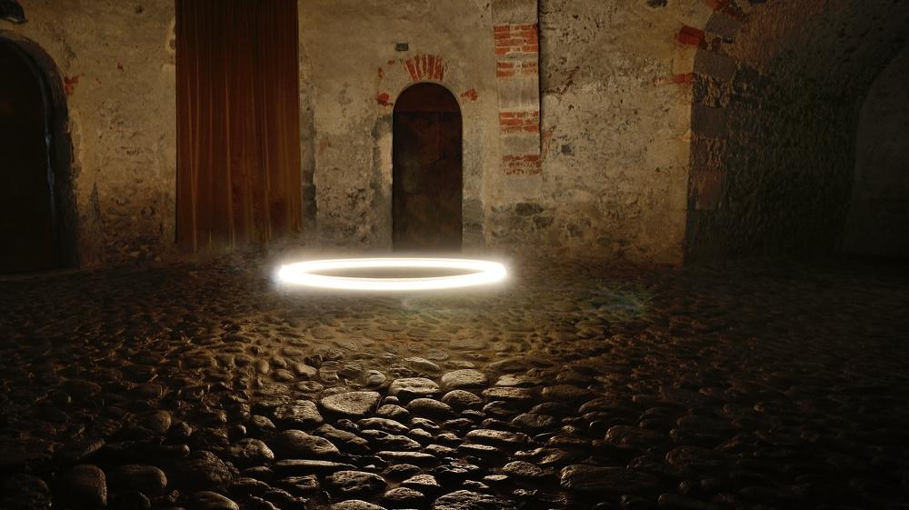 Der magische Kreis, hat mich fast zur Verzweiflung gebracht, ohne Stativ...