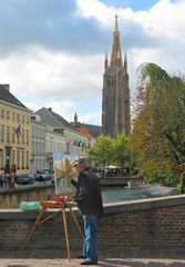 Der Maler auf der Brücke