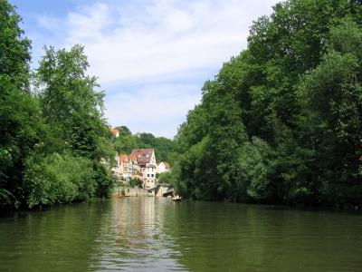 Der malerische Neckar