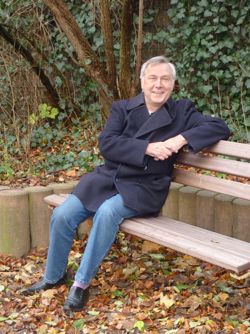 Der Mann auf der Bank