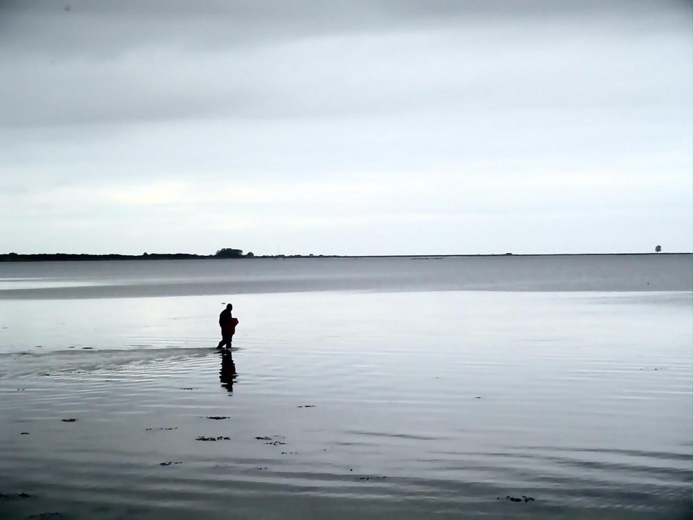 Der Mann im Meer