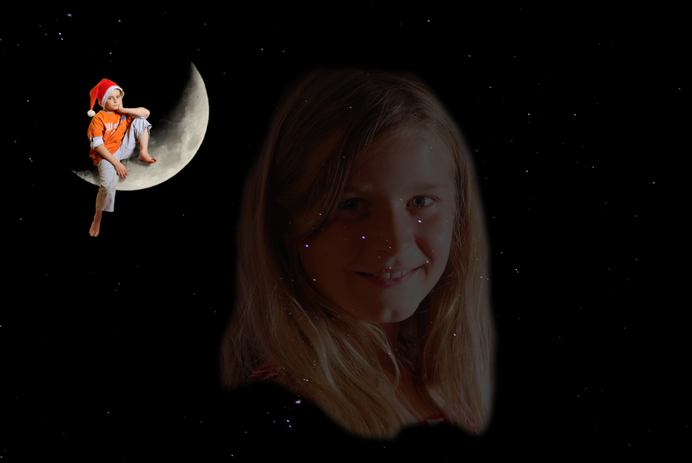 Der Mann im Mond und das Sternenkind