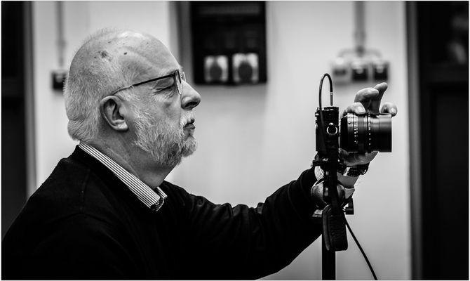 Der Mann mit der Leica
