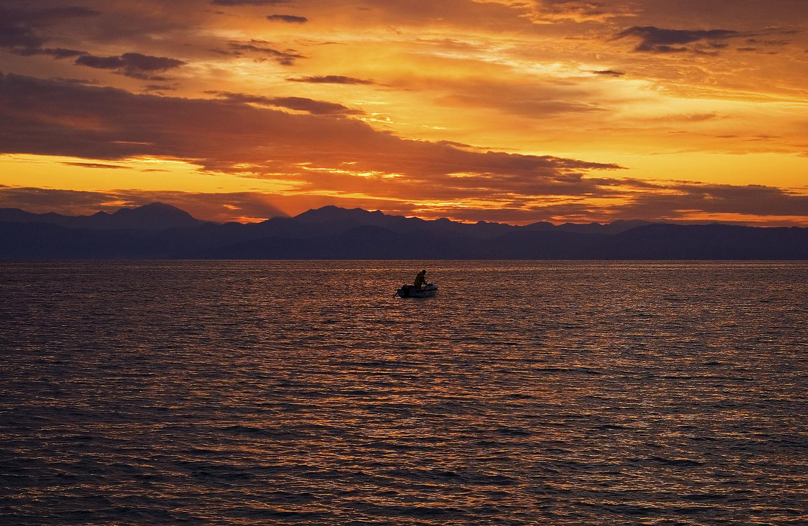 Der Mann und das Meer...