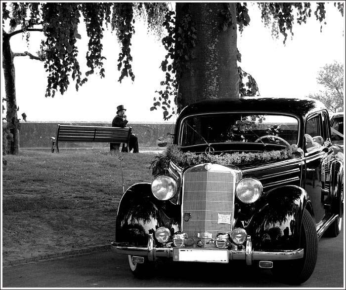 Der Mann und sein Benz