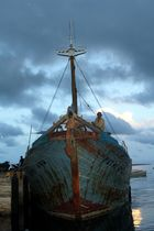 der Mann und sein Boot
