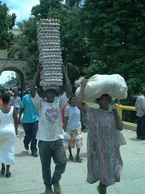 Der Markt in Dajabon (Grenze Dominikanische Republik und Haiti)