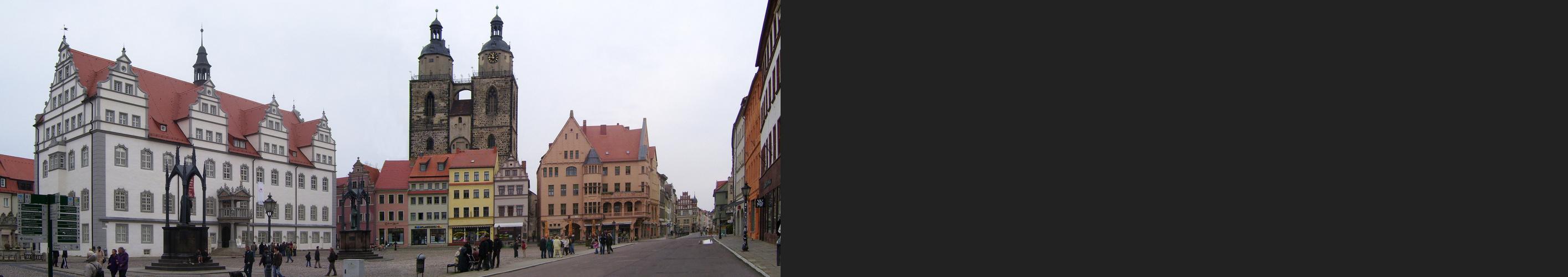 Der Markt zu Wittenberg