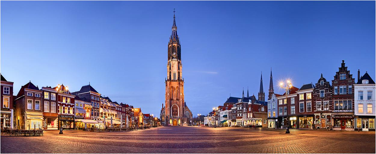 der Marktplatz von Delft