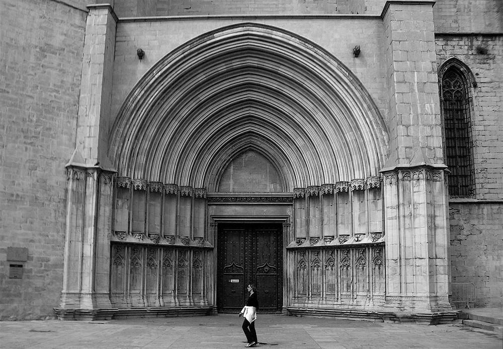 Der Mensch sollte sich einst vor der Kirche klein fühlen...