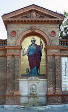 Der Minervabrunnen