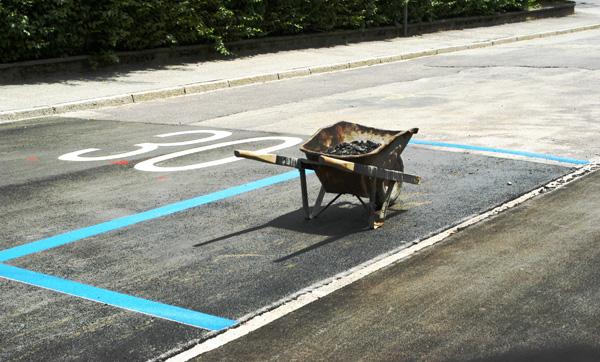 der missbrauchte parkplatz