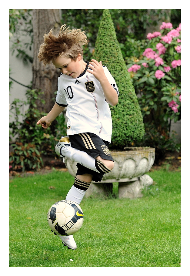 Der mit dem Ball tanzt ...