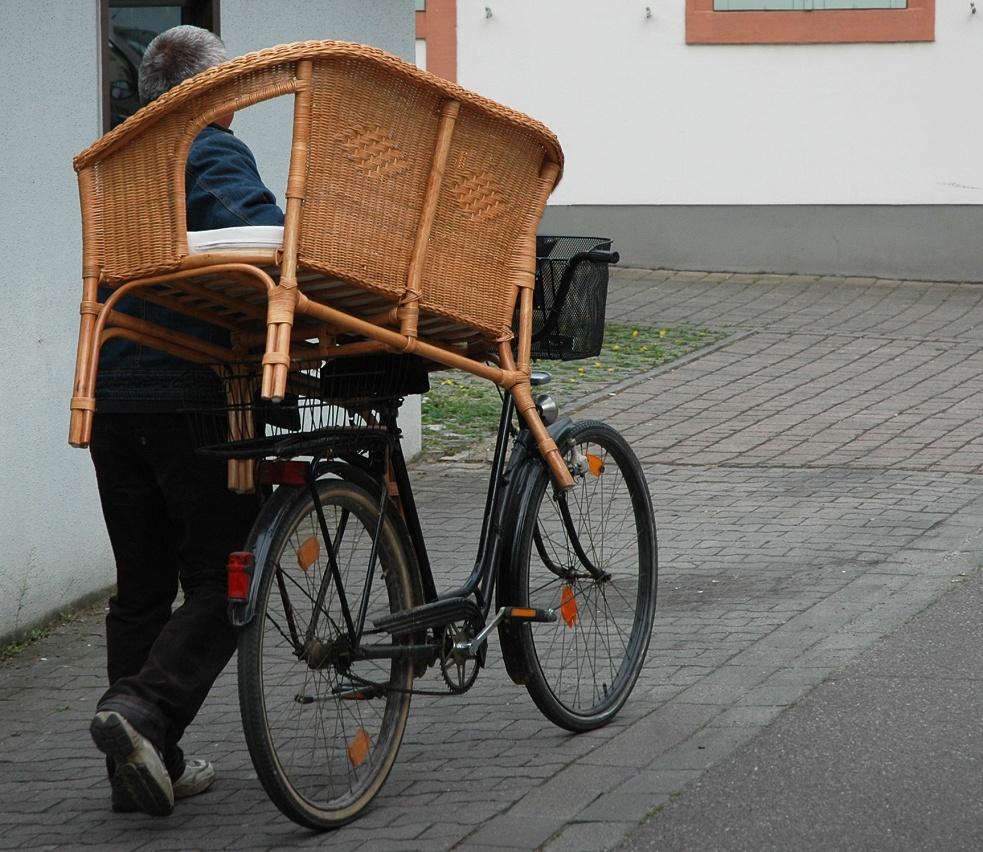 der Möbeltransport
