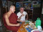 Der Mönch in seiner Hütte