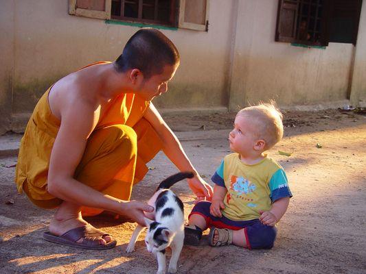 Der Mönch und das Kind