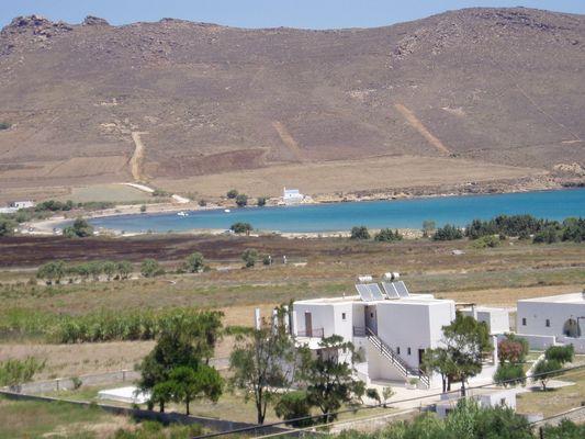 Der Molos, unsere Badebucht auf Paros