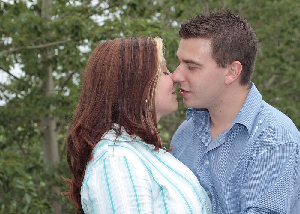 Der Moment nach dem Kuss