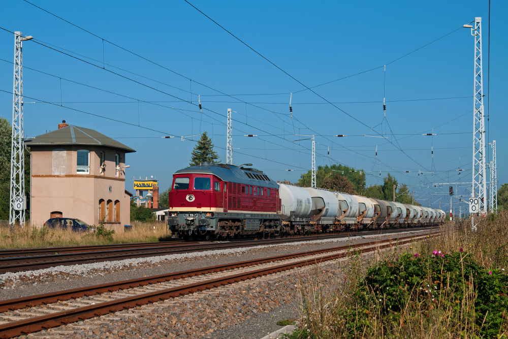 Der momentan schönste Güterzug...