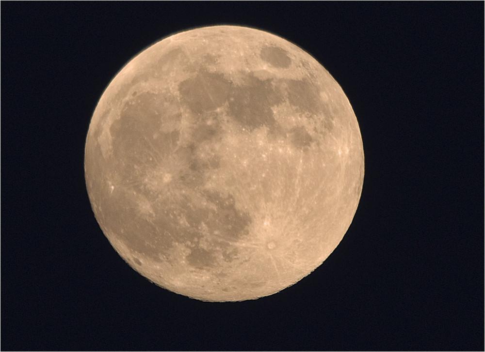 Der Mond am 10.01.2009