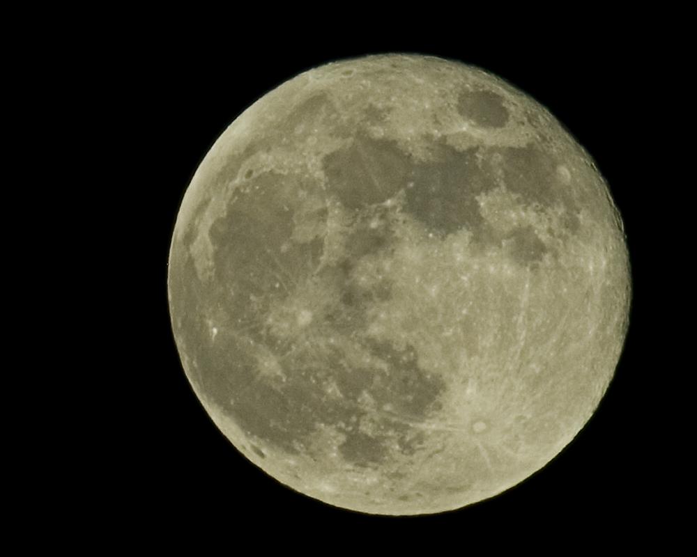 Der Mond am 11.01.2009