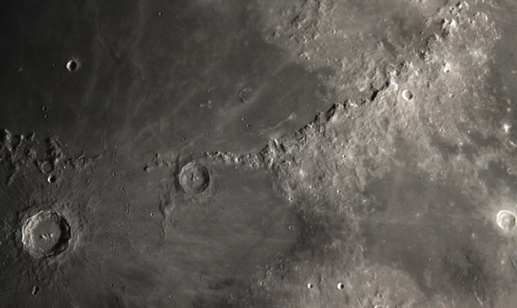 Der Mond am 14,03,2011