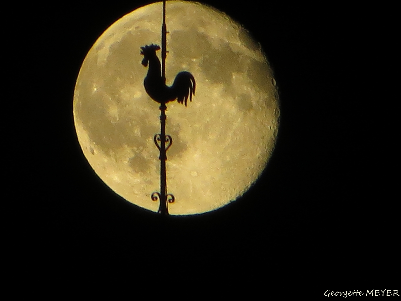 Der Mond am 14.06.2014